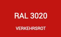 Markierfarbe RAL 3020 - Verkehrsrot